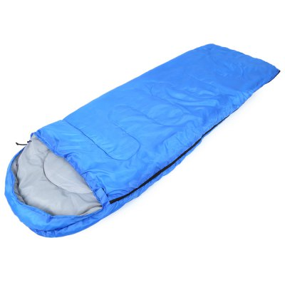 Outdoor Cotton Camping Hooded Envelope Sleeping Bag