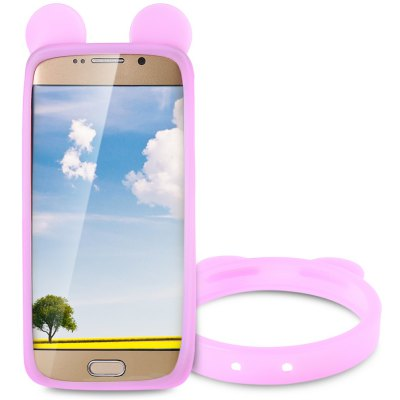 Bear Ears Shape Silicone Phone Bumper Cover