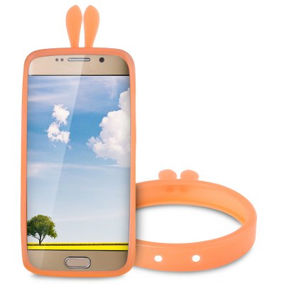Rabbit Ears Shape Silicone Phone Bumper Cover