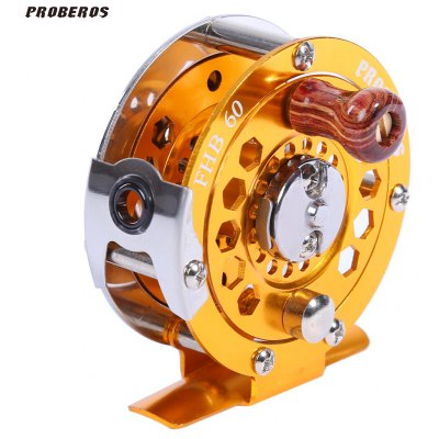 Proberos Full Metal Fly Fishing Reel Wheel