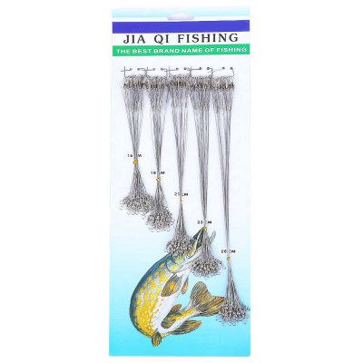 100pcs Fishing Lure Line Trace Wire Leader
