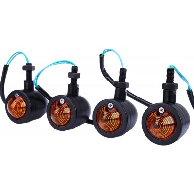 4pcs 12V Retro Refit Turn Signal Indicator Light