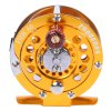 cheap Proberos Full Metal Fly Fishing Reel Wheel