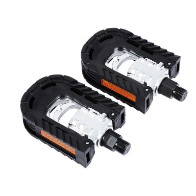 Paired Aluminum Alloy Bicycle Bike Folding Non-slip Pedals