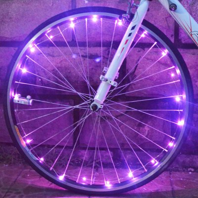 Bicycle 20 LEDs Safety Spoke Wheel Light