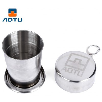 AOTU Collapsible Hiking Cup with Buckle