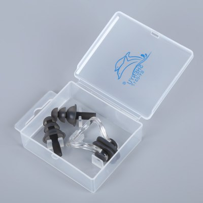 Shenyu Soft Silicone Swimming Nose Clips Two Ear Plugs Gear