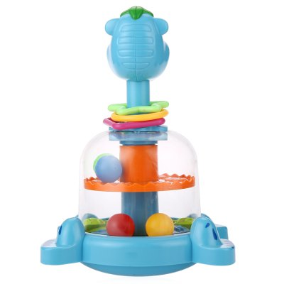 Baby Funny Animal Turntable ToyOther Educational Toys<br>Baby Funny Animal Turntable Toy<br><br>Age Range: &gt; 1 year old<br>Features: Educational,Electronic<br>Gender: Unisex<br>Material: Plastic<br>Shape: Animal<br>Type: Whole<br>Product weight: 0.368 kg<br>Package weight: 0.607 kg<br>Package Size(L x W x H): 16.00 x 18.00 x 27.00 cm / 6.3 x 7.09 x 10.63 inches<br>Package Contents: 1 x Turntable Toy