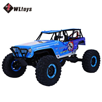 WLtoys 10428A 2.4G 1:10 Scale Remote Control Track Car Toy