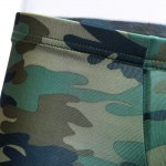 Elastic Acrylic Camouflage Boxer Brief for sale