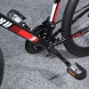 Paired Aluminum Alloy Bicycle Bike Folding Non-slip Pedals photo