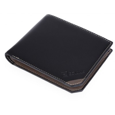 Letter Open Business Horizontal Money Card Wallet