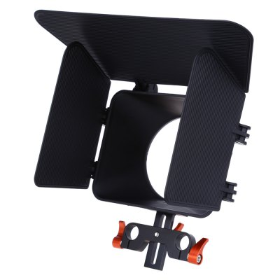 CS - M1 OR Matte Box Rig for DSLR Camera DVPhotography Accessories<br>CS - M1 OR Matte Box Rig for DSLR Camera DV<br><br>Product weight: 0.206 kg<br>Package weight: 0.367 kg<br>Package Size(L x W x H): 26.00 x 17.50 x 6.00 cm / 10.24 x 6.89 x 2.36 inches<br>Package Contents: 1 x CS - M1 OR Matte Box, 1 x English User Manual
