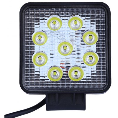 27W Ultra-thin LED Vehicle LED Work Light