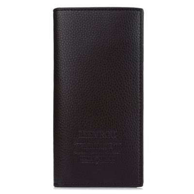 Lichee Pattern Letter Open Soft Vertical Long WalletMens Wallets<br>Lichee Pattern Letter Open Soft Vertical Long Wallet<br><br>Wallets Type: Clutch Wallets<br>Gender: For Men<br>Style: Fashion<br>Closure Type: Open<br>Pattern Type: Solid<br>Main Material: PU Leather<br>Hardness: Soft<br>Interior: Interior Slot Pocket<br>Embellishment: Letter<br>Height: 18.9 cm / 7.44 inch<br>Width: 1.6 cm / 0.63 inch<br>Length(CM): 9.3 cm / 3.66 inch<br>Product weight: 0.104 kg<br>Package weight: 0.129 kg<br>Package size (L x W x H): 9.80 x 2.10 x 19.40 cm / 3.86 x 0.83 x 7.64 inches<br>Package Contents: 1 x Long Wallet