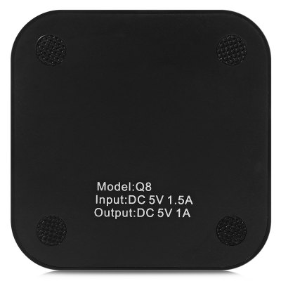 Qi Wireless Charger Power SupplyChargers &amp; Cables<br>Qi Wireless Charger Power Supply<br><br>Package Contents: 1 x Qi Wireless Charger, 1 x USB Cable, 1 x English Manual<br>Package Size(L x W x H): 17.00 x 12.00 x 2.00 cm / 6.69 x 4.72 x 0.79 inches<br>Package weight: 0.120 kg<br>Product Size(L x W x H): 9.00 x 9.00 x 0.90 cm / 3.54 x 3.54 x 0.35 inches<br>Product weight: 0.048 kg<br>USB Ports: 2