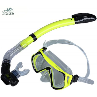 Diving Mask Snorkel Glasses Set