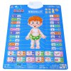 Buy Baby Bump Sound Wall Charts Intelligent Toy BLUE