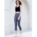 Active U-Neck Stripes See-Through Tank Top + Elastic Waist Capri Leggings Women Twinset deal