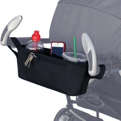 Polyester Babies Stroller Cup Bag Organizer
