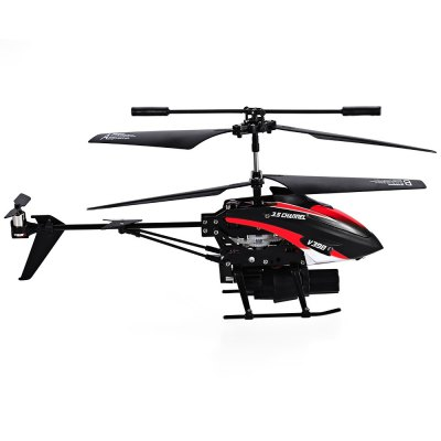 V398 Remote Control HelicopterRC Helicopters<br>V398 Remote Control Helicopter<br><br>Action Time: About 5 - 10 minutes<br>Age Range: &gt; 14 Years old<br>Charging Time: About 30 minutes<br>Charging Voltage: 3.7V<br>Control Channels: 3.5 Channels<br>Controller Battery: 6 x 1.5V AA Battery ( Not included )<br>Controller Mode: MODE2<br>Dimensions: 23.5cm x 10cm x 7cm<br>Features: Shatter  Resistant, Model, Flashing<br>Material: Plastic<br>Motor: Brush Motor<br>Package Contents: 1 x Helicopter, 1 x Controller, 1 x USB Charging Cable, 2 x Main Propeller, 2 x Tail Propeller, 8 x Missile, 1 x Bilingual User Manual in English and Chinese<br>Package Size(L x W x H): 33.50 x 28.50 x 9.00 cm / 13.19 x 11.22 x 3.54 inches<br>Package weight: 0.501 kg<br>Power Source: Electric<br>Product weight: 0.263 kg<br>Remote Control: Yes<br>Remote Distance: 10m<br>State of Assembly: Ready-to-Go