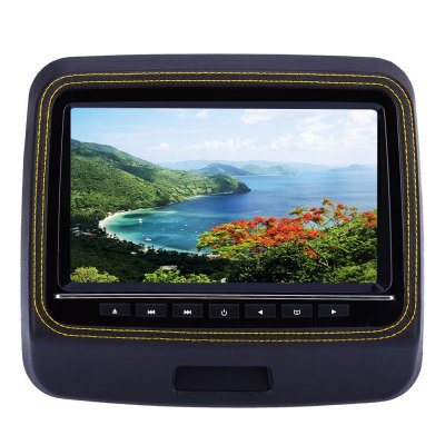 XD9906 9 Inch 800 x 480 LCD Screen Car Backseat DVD PlayerCar DVD Player<br>XD9906 9 Inch 800 x 480 LCD Screen Car Backseat DVD Player<br><br>Installation Site: Headrest<br>Screen size: 9inch<br>Screen resolution: 800 x 480<br>Media Format: CD,CD-R,DVD,MP3,MP4,WMA<br>Product weight: 1.553 kg<br>Package weight: 2.095 kg<br>Product size (L x W x H): 25.00 x 22.50 x 8.00 cm / 9.84 x 8.86 x 3.15 inches<br>Package size (L x W x H): 34.00 x 24.00 x 11.00 cm / 13.39 x 9.45 x 4.33 inches<br>Package Contents: 1 x DVD Player, 1 x Power Cable, 1 x Remote Control, 1 x Game CD, 1 x English Product Manual