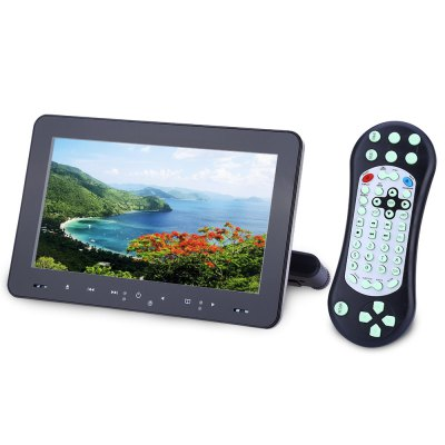 XD9909 9 Inch 800 x 480 LCD Screen Car Backseat DVD Player