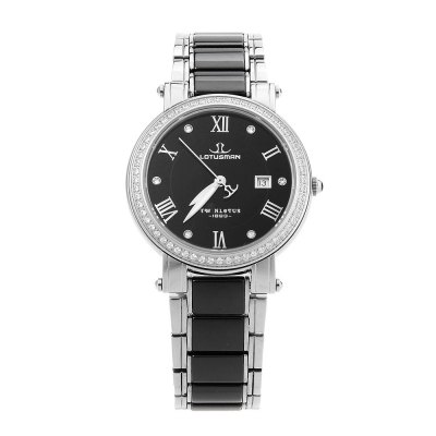 LOTUSMAN DL890TXA Women Quartz WatchWomens Watches<br>LOTUSMAN DL890TXA Women Quartz Watch<br><br>Band Length: 7.48 inch<br>Band Material Type: Ceramic,Stainless Steel<br>Band Width: 16 mm<br>Case material: Stainless Steel<br>Case Shape: Round<br>Clasp type: Butterfly Clasp<br>Dial Diameter: 1.26 inch<br>Dial Display: Analog<br>Dial Window Material Type: Sapphire<br>Feature: Date,Luminous<br>Gender: Women<br>Movement: Quartz<br>Style: Luxury<br>Water Resistance Depth: 30m<br>Product weight: 0.074 kg<br>Package weight: 0.467 kg<br>Product Size(L x W x H): 19.00 x 3.50 x 0.60 cm / 7.48 x 1.38 x 0.24 inches<br>Package Size(L x W x H): 12.00 x 12.00 x 10.00 cm / 4.72 x 4.72 x 3.94 inches<br>Package Contents: 1 x LOTUSMAN DL890TXA Women Quartz Watch