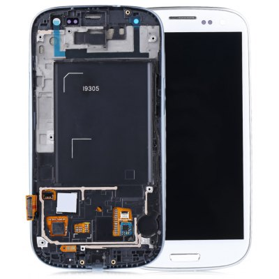 Replaceable LCD Screen Assembly + Touch Glass Digitizer Phone Tool Set for Samsung Galaxy S3 I9305