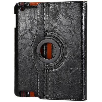 Crazy Horse Series Smart Cover Case with Rotate and Stand Function for iPad 2 / 3 / 4