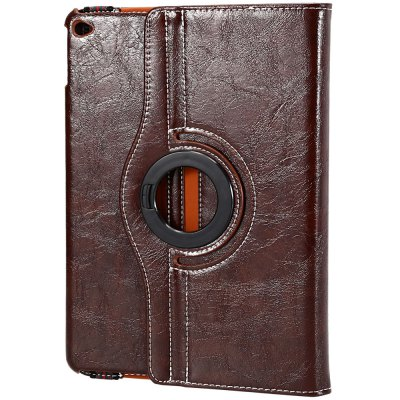 Crazy Horse Series Smart Cover Case with Rotate and Stand Function for iPad Air 2
