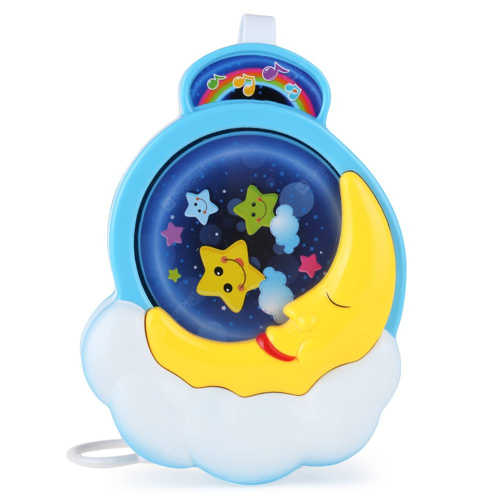 Baby Bed Bell Musical Box Toy COLORMIX