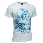 3D Printed Round Neck Short Sleeve T-shirt deal
