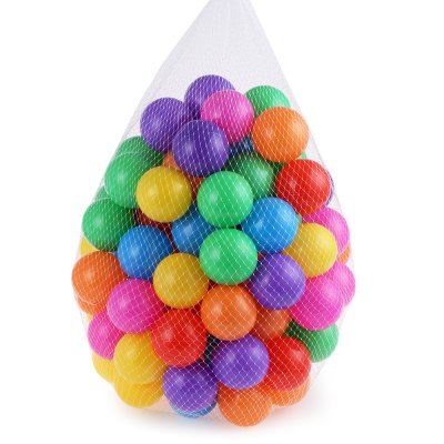 100pcs Baby Ocean Wave Ball ToyOutdoor Fun &amp; Sports<br>100pcs Baby Ocean Wave Ball Toy<br><br>Age Range: &gt; 1 year old<br>Features: Soft,Sports<br>Material: Plastic<br>Type: Softball,Stress Ball<br>Product weight: 0.280 kg<br>Package weight: 0.305 kg<br>Package Size(L x W x H): 32.00 x 30.00 x 28.00 cm / 12.6 x 11.81 x 11.02 inches<br>Package Contents: 100 x Ball