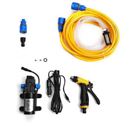 12V 80W High Pressure Self-priming Electric Car Wash Washer Water Pump
