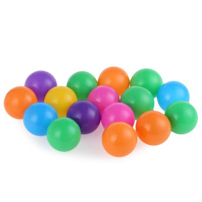 100pcs Baby Ocean Wave Ball ToyOutdoor Fun &amp; Sports<br>100pcs Baby Ocean Wave Ball Toy<br><br>Age Range: &gt; 1 year old<br>Features: Soft,Sports<br>Material: Plastic<br>Type: Softball<br>Product weight: 0.280 kg<br>Package weight: 0.360 kg<br>Package Size(L x W x H): 32.00 x 30.00 x 28.00 cm / 12.6 x 11.81 x 11.02 inches<br>Package Contents: 100 x Ball