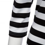 Sexy Off The Shoulder Striped Women Bodycon Dress for sale
