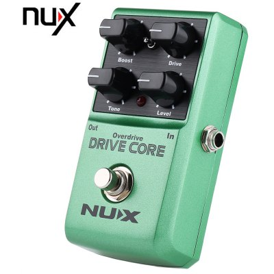 NUX Drive Core Overdrive Booster Guitar Effect Pedal