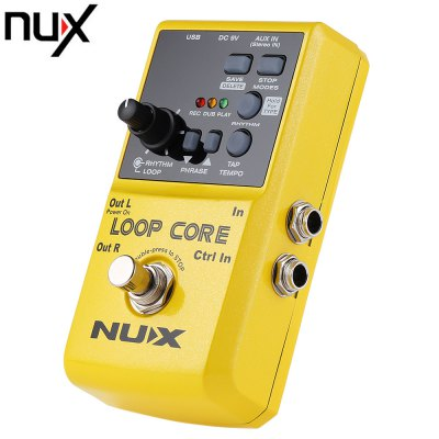NUX Loop Core Guitar Effect Pedal True Bypass Design