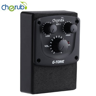 Cherub G - Tone GT - 1 Acoustic Guitar 2 Band Equalizer