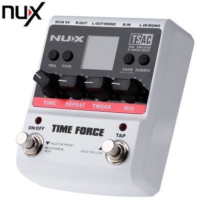 NUX Time Force Delay Electric Guitar Effect Pedal