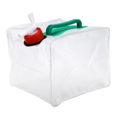 5L PVC Foldable Drinking Water Bag Container