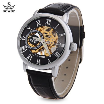 Sewor SWQ29 Antique Male Mechanical Hand Wind Watch