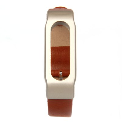 MIJOBS Watchband for Xiaomi MibandWatch Accessories<br>MIJOBS Watchband for Xiaomi Miband<br><br>Band Length: 7.5 inch<br>Band Material Type: Leather<br>Band Width: 14 mm<br>Clasp type: Pin buckle<br>Product weight: 0.010 kg<br>Package weight: 0.079 kg<br>Product Size(L x W x H): 24.50 x 1.70 x 0.70 cm / 9.65 x 0.67 x 0.28 inches<br>Package Size(L x W x H): 9.00 x 6.70 x 2.30 cm / 3.54 x 2.64 x 0.91 inches<br>Package Contents: 1 x Leather Watchband, 8 x Screw, 1 x Screwdriver