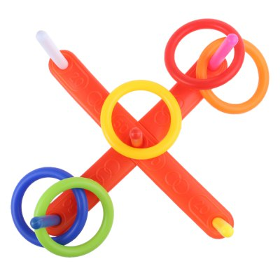 Kids Outdoor Fun Sports Cast Ring Throwing GameOutdoor Fun &amp; Sports<br>Kids Outdoor Fun Sports Cast Ring Throwing Game<br><br>Age Range: &gt; 3 years old<br>Gender: Unisex<br>Material: Plastic<br>Type: Jumping Ring<br>Product weight: 0.160 kg<br>Package weight: 0.189 kg<br>Product Size(L x W x H): 41.00 x 41.00 x 17.00 cm / 16.14 x 16.14 x 6.69 inches<br>Package Size(L x W x H): 43.00 x 14.00 x 14.00 cm / 16.93 x 5.51 x 5.51 inches<br>Package Contents: 1 x Jumping Ring