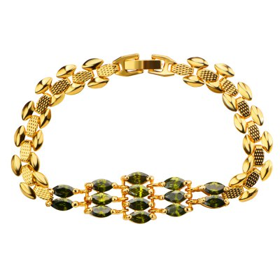 18k Gold Plated Women Bracelet
