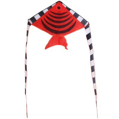 1.9m Carbon Steel Batfish Style Flying Kite