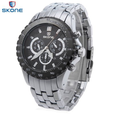 SKONE 7389BG Men Quartz Watch