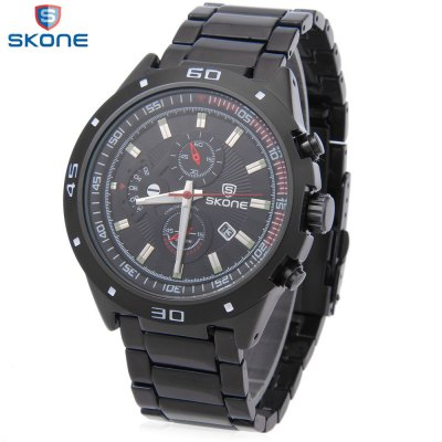 SKONE 7386BG Men Quartz Watch