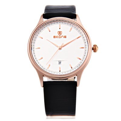 SKONE 9424B Couple Quartz WatchCouples Watches<br>SKONE 9424B Couple Quartz Watch<br><br>Band Length: men: 7.87 inch, women: 7.09 inch<br>Band Material Type: Leather<br>Band Width: men: 18mm, women: 14mm<br>Case material: Stainless Steel<br>Case Shape: Round<br>Clasp type: Pin Buckle<br>Dial Diameter: men: 1.5 inch, women: 1.1 inch<br>Dial Display: Analog<br>Dial Window Material Type: Hardlex<br>Feature: Date<br>Gender: lovers,Men,Women<br>Movement: Quartz<br>Style: Simple<br>Product weight: 0.053 kg<br>Package weight: 0.075 kg<br>Package Size(L x W x H): 25.50 x 7.50 x 1.60 cm / 10.04 x 2.95 x 0.63 inches<br>Package Contents: 1 x SKONE 9424B Couple Quartz Watch